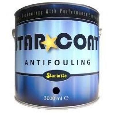 Foto van Starbrite Star*Coat Langzaam Zelfslijpende Antifouling - Zwart