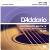 Afbeelding van DAddario EJ26 Phosphor Bronze Custom Light 011-052