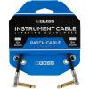 Afbeelding van Boss Patch Cable BPC-4 haaks/haaks 10CM