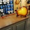 Afbeelding van Eastman T64/V Antique Varnished Goldburst Lollar P-90 Dog Ears incl. Hardcase