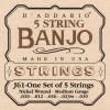Afbeelding van DAddario EJ61 Nickel 5 String Banjo