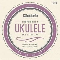Foto van DAddario EJ88C Nyltech Concert Ukulele
