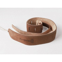 Foto van Martin Ball Leather/Suede guitar strap 18A0027 Distressed