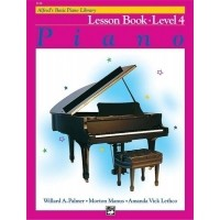 Foto van Alfred's Basic Piano Library: Lesson Book 4 (ALF002110)
