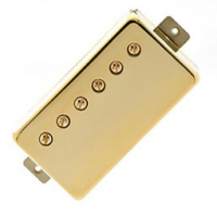 Foto van Lollar Imperial Humbucker, Neck Single Conductor, Gold cover