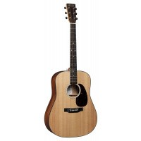 Foto van Martin D-10E Dreadnought, Solid Sitka spruce top solid Sapele back and sides, incl. gigbag