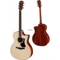 Foto van Eastman AC322CE Solid Sitka spruce top, solid Sapele back and sides, incl. hardcase