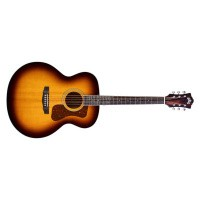 Foto van Guild F-250E Deluxe, solid Sitka spruce top, laminated Maple back and sides.