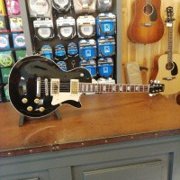 Foto van Heritage H-150, Black, Seymour Duncan Seth Lover neck and bridge, incl. hardcase