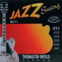 Foto van Thomastik Jazz Swing THJS-111 Flatwound