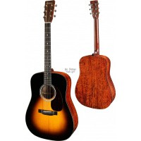 Foto van Eastman E10-D Sunburst, Solid Adirondack spruce top, solid Mahogany back and sides, incl. hardcase