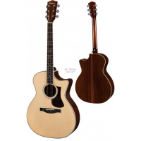 Foto van Eastman AC422CE Solid Sitka spruce top, solid Rosewood back and sides, incl. Hardcase