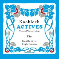 Foto van Knobloch 400KAN Double Silver snarenset klassiek High Tension