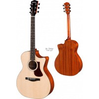 Foto van Eastman AC122-1ce, solid Sitka spruce top, solid Sapele back and sides inc. gigbag