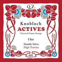 Foto van Knobloch 400KAQ Double Silver QZ snarenset klassiek High Tension