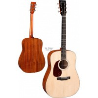 Foto van Eastman E1D-LH, solid Sitka spruce top, solid Sapele back and sides, incl. gigbag