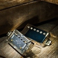 Foto van Lollar El Rayo Humbucker, Neck, Single Conductor, Nickel cover