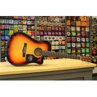 Foto van Fender CD-60CE Sunburst 096-1542-032
