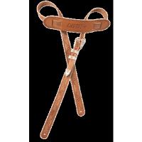 Foto van Gretsch Strap Tooled Vintage Leather Strap Russet 922-0021-000