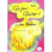 Foto van Go for Guitar! Basic + CD - Joep Wanders (BVP1733)