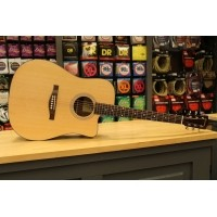 Foto van Eastman AC120CE Solid Sitka Spruce top, laminated Sapele back and sides incl. gigbag