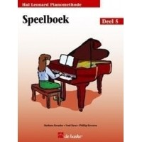 Foto van Hal Leonard Pianomethode Speelboek 5