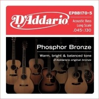 Foto van DAddario EPBB-170 Acoustic Bass Long Scale 45-100