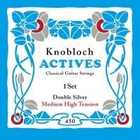 Foto van Knobloch 450KAN Double Silver snarenset klassiek Medium High Tension