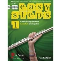 Foto van Easy Steps 1 Dwarsfluit +CD - Jaap Kastelijn