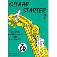 Foto van Gitaar Starter Deel 2 + CD - Cees Hartog
