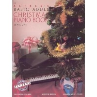 Foto van Alfred's Basic Adult Piano Course Christmas Book 1