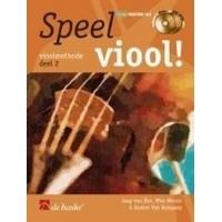 Foto van Speel Viool! deel 2 +CD - Jaap van Elst/Wim Meuris/Gunter Van Rompaey