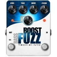 Foto van Tech 21 Bass Boost Fuzz