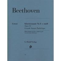 Foto van Beethoven Sonate 8 c-moll Opus 13