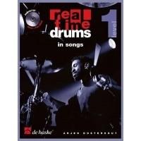 Foto van Real Time Drums in Songs (NL) +CD