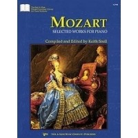 Foto van Mozart Selected Works For Piano (Snell)
