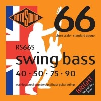 Foto van Rotosound RS66S 040-090 Stainless steel roundwound