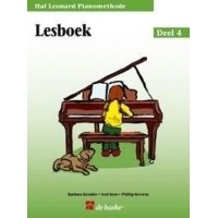 Foto van Hal Leonard Pianomethode Lesboek 4