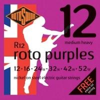 Foto van Rotosound R12 Roto Purples 012-052