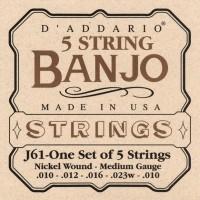 Foto van DAddario EJ61 Nickel 5 String Banjo