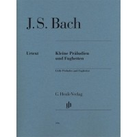 Foto van J.S. Bach Kleine Präludien und Fughetten