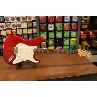 Foto van Fender Standard Stratocaster PF Candy Apple Red 014-4603-509