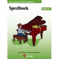 Foto van Hal Leonard Pianomethode Speelboek 4