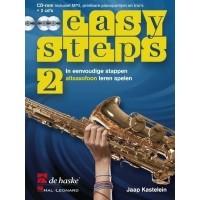 Foto van Easy Steps 2 Altsaxofoon +CD - Jaap Kastelijn
