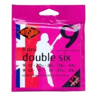 Foto van Rotosound R30SL Double Six Super Light 12string set
