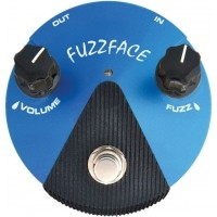Foto van Dunlop Silicon Fuzz Face Mini Blue