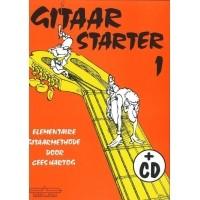Foto van Gitaar Starter Deel 1 + CD - Cees Hartog