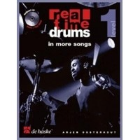Foto van Real Time Drums in More Songs (NL) +CD