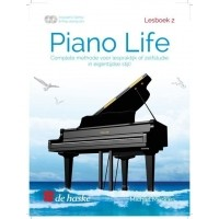 Foto van Piano Life Lesboek 2 + CD - Michiel Merkies