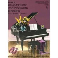 Foto van Alfred's Piano Methode voor Volwassen Beginners deel 1 (BVP1639)